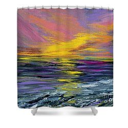 Collection Art For Health And Life. Painting 8 Shower Curtain