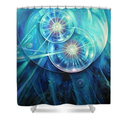 Collide Shower Curtain