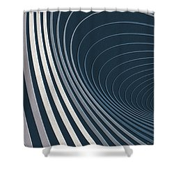 Color Harmonies - Mountain Mist Shower Curtain