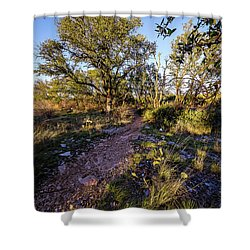 Colorado Bend State Park Gorman Falls Trail #2 Shower Curtain