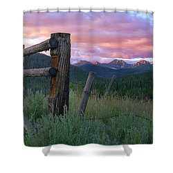 Colorado Glory Shower Curtain