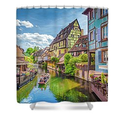 Colorful Colmar Shower Curtain by JR Photography