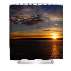 Colors Shower Curtain by John Rossman