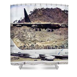 Coming Home  Shower Curtain by Peter Chilelli