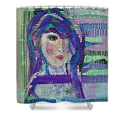 Complicated Woman Shower Curtain