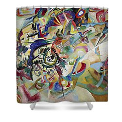 Composition Vii Shower Curtain by Wassily Kandinsky
