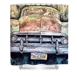 Condon's Coupe Shower Curtain by Lance Wurst