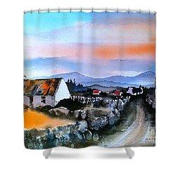 Connemara Sunset, Galway Shower Curtain