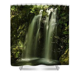 Cool Down Shower Curtain by Nick Boren