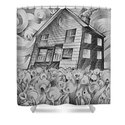 Cool Spring Night Shower Curtain