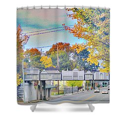 Cooper Young Trestle Shower Curtain