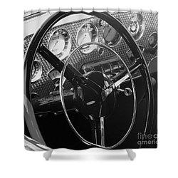Cord Phaeton Dashboard Shower Curtain