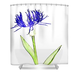 Cornflower No.5 Shower Curtain