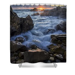 Shower Curtain featuring the photograph Corona Del Mar by Sean Foster
