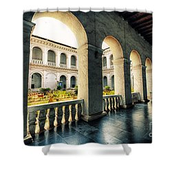 Corridor Shower Curtain by Charuhas Images