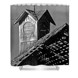 Country Sunroof Shower Curtain