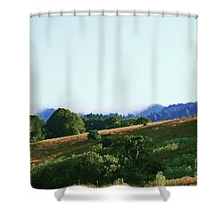 Creator's Sky Painting Shower Curtain