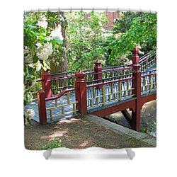 Crim Dell Bridge IIi Shower Curtain