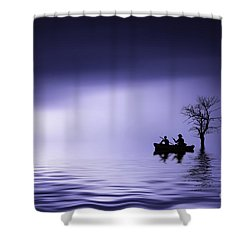 Shower Curtain featuring the photograph Cruise by Bess Hamiti