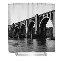 Csx A-line Bridge Shower Curtain