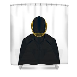Daft Punk Shower Curtains