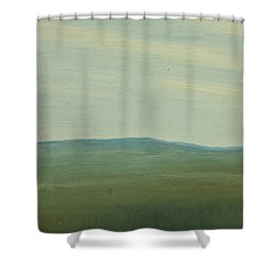 Dagrar Over Salenfjallen- Shifting Daylight Over Distant Horizon 5 Of 10_0029 91x61 Cm Shower Curtain