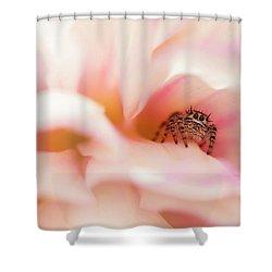 Dahlia Cafe Shower Curtain