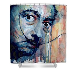 Dali Shower Curtain by Paul Lovering