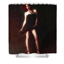 Dancer  ... Shower Curtain by Chuck Caramella