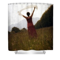 Dancing Shower Curtain by Joana Kruse