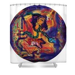 Dancing Shiva Shower Curtain