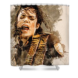 Dangerous Shower Curtain