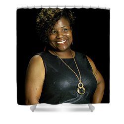 Danielle Hampton  Shower Curtain