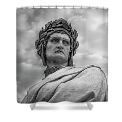 Dante Alighieri Shower Curtain
