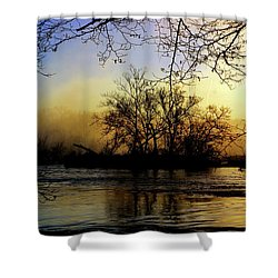Morning Dawn Shower Curtain