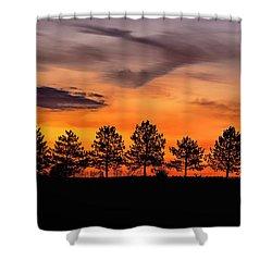 Day Break Shower Curtain