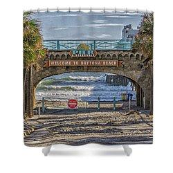 Daytona Beach Shower Curtain