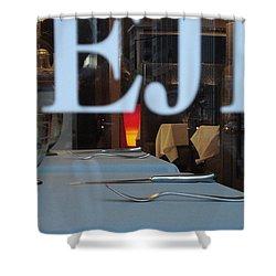 Deje Shower Curtain by Contemporary Luxury Fine Art
