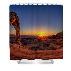 Delicate Sun Shower Curtain