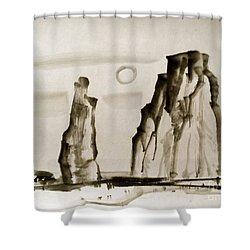 Desert 15050050fy Shower Curtain