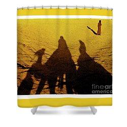 Desert Trek Shower Curtain