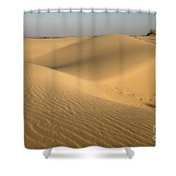 Shower Curtain featuring the photograph Desert by Yew Kwang