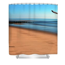 Shower Curtain featuring the photograph Desire Light  by Hannes Cmarits