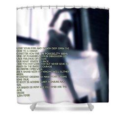 Desire Shower Curtain