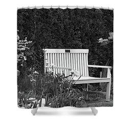 Desolate In The Garden Shower Curtain