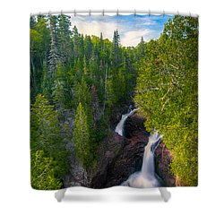 Devil's Kettle  Shower Curtain