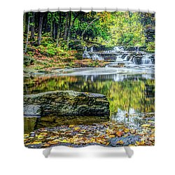 Devils River 3 Shower Curtain