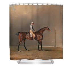 Diamond With Dennis Fitzpatrick Up Shower Curtain