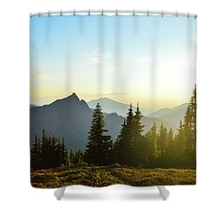 Dickerman Sunset Shower Curtain