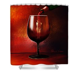 Divine Beauty Shower Curtain